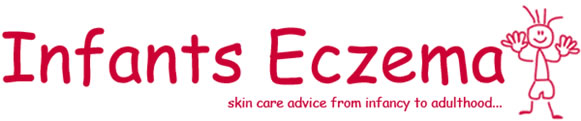 Stop your infant from scratching their eczema